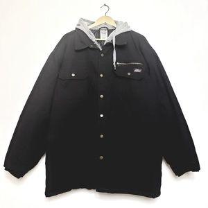 Dickies | Men's 3X black canvas jacket